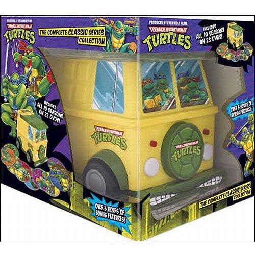 Teenage Mutant Ninja Turtles: The Complete Classic Series (TMNT Party Van Packaging) (Full (Vans Turtle Ninja)