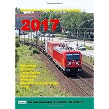 Elektroloks der DB AG im Fahrplanjahr 2017: Der Jahresrückblick (11.12.2016 - 09.12.2017)