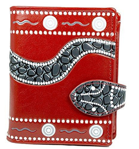 shagwear-junge-damen-geldborse-small-purse-verschiedene-farben-und-designs-schlange-rot-snake