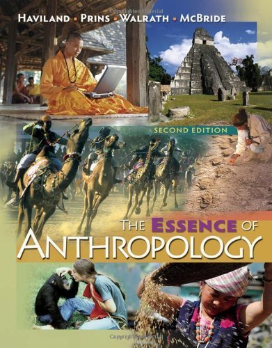 The Essence of Anthropology by Haviland, William A., Prins, Harald E. L., Walrath, Dana, Mc (2009) Paperback
