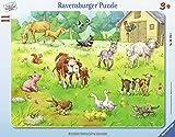 Ravensburger Rahmenpuzzle 06143 Meine Lieblingstiere
