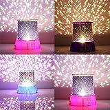 AB SALES Romantic Cosmos Moon Colorful Master Star Sky Universal Night Light Kid Projector Lamp