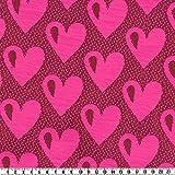 Hamburger Liebe - Simply Hearts - Relief-3D-Jaquard Jersey,