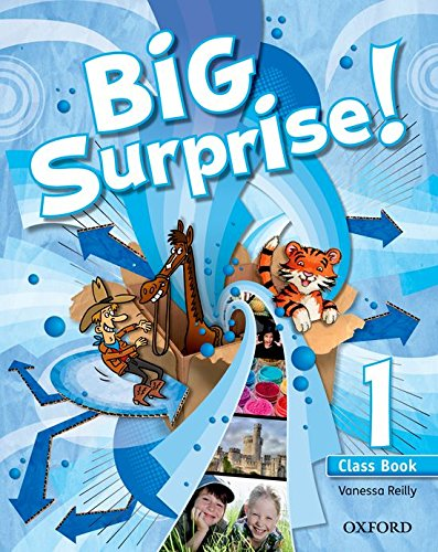 Big surprise! 1 class book + multi - rom