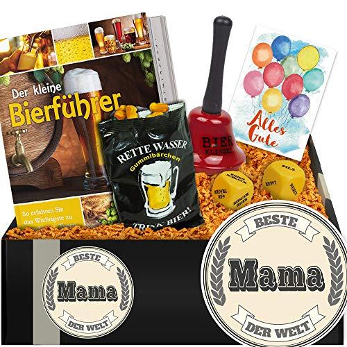 Beste Mama | Bier Geschenk Biergenuss | Geschenk für Mama zum 55 Geburtstag