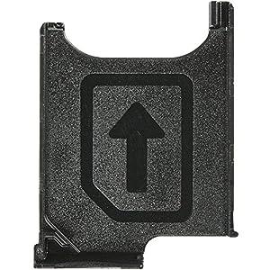 Original Sony Simkartenhalter black / schwarz für Sony C6802, C6806, C6833 Xperia Z Ultra (Sim Tray) - 1272-6336