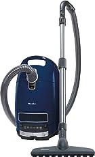 Miele Complete C3 Parquet EcoLine Bodenstaubsauger (mit Beutel, EEK A+, 4, 5 Liter Staubbeutelvolumen, 550 Watt, 12 m Aktionsradius, inkl. flexibler und bodenschonender Parkettbürste) blau