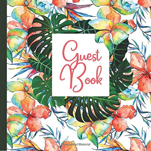 Guest Book: Hawaii Party Guest Book Includes Gift Tracker and Picture Memory Section to Create a Lasting Keepsake to Treasure Forever (Hawaii Party ... Invitations,Hawaii Party Supplies, Band 3)