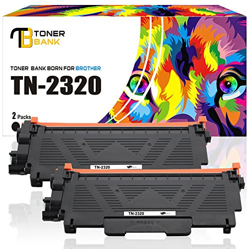 en per Cartridge] Kompatibel TN-2320 Für Brother TN-2320 TN-2310 TN 2320 TN2320 TN2310 Toner Brother MFC-L2700DW MFC-L2700DN MFC L2700DW MFC L2700DN Drucker Toner Schwarz Printer (Brother Drucker Mfc-l2700dw)