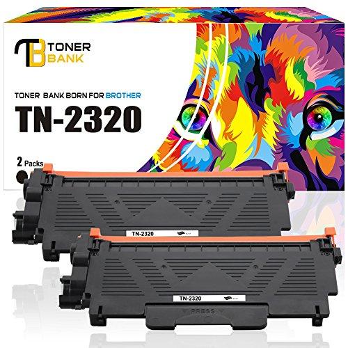 Toner Bank 2Pack 10400 Seiten Kompatibel für Brother TN-2320 TN2320 TN 2320 TN2310 B2320XXX für Brother MFC L2700DW MFC-L2700DW MFC-L2700DN MFC L2700DN HL-L2360DN HL-L2340DW DCP-L2520DW