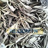 #5: Aldomin Dried White Sage Smudging | Herbal Tea | Bath | Removing Bad Energies (100 Gram)