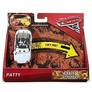 Cars 3- Coche Crazy Cig Alert (Mattel DYB10)