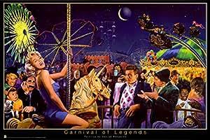 George Bungarda – Carnival of Legends Poster (91,44 x 60,96 cm)