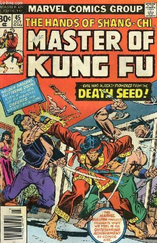 THE HANDS OF SHANG-CHI, MASTER OF KUNG FU, N° 45