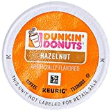 Best Flavored K Cups - Dunkin' Donuts Hazelnut Flavored Coffee K-Cup Pods, Review