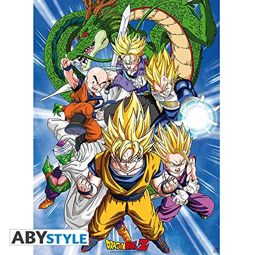 ABYstyle Abysse Corp_ABYDCO494 Dragon Ball - Póster Cell Saga (52X38)