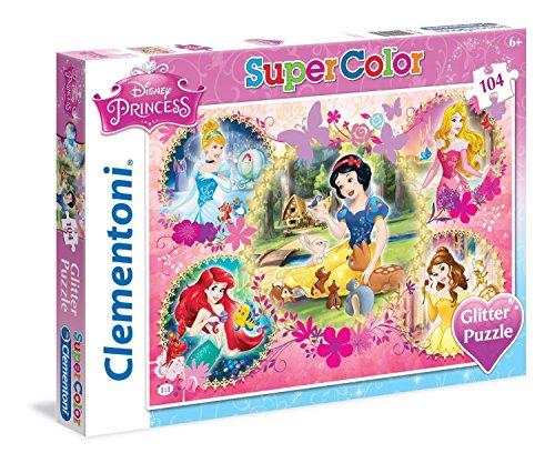 Clementoni - 201341 - Puzzle - Princesse - 104 Pièces