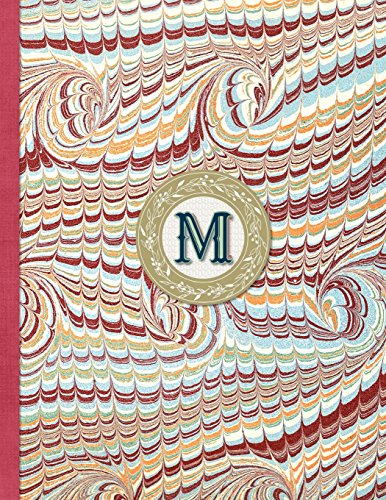 Bullet Journal - M Monogram: 8.5