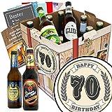 70 Zahl Klassik | Bier Geschenkset mit Bieren aus Deutschland