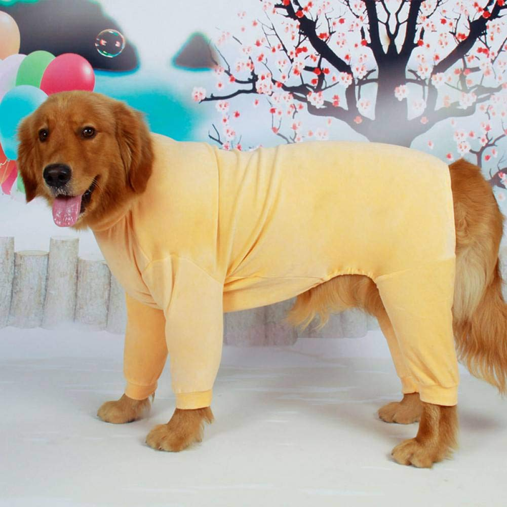 FGDSSE Big Dog Clothes Big Dog Pajamas Jumpsuit Golden Retriever Siberian Husky Labrador Collie Clothing