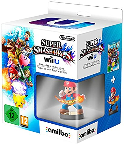 Super Smash Bros + amiibo smash Mario
