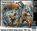 Master Box MB35116 - Figur Handtohand fight German und British infantrymen WWI era von Master Box Ltd (MAWKT)