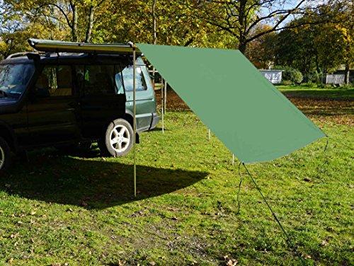 Tarp / Erweiterung zu Fahrzeugmarkise 200cm in grün von Prime Tech