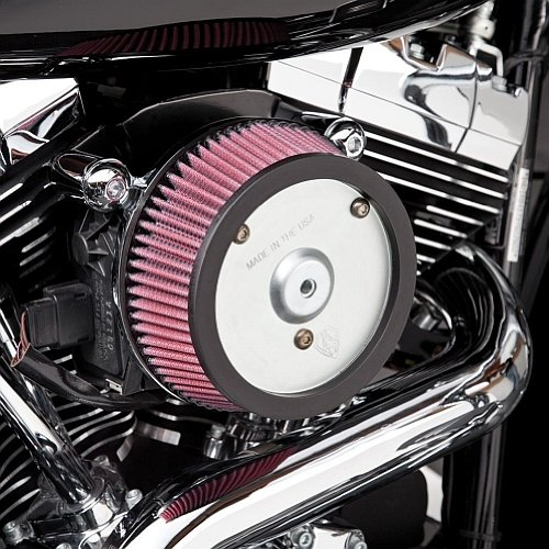 Air Filter Kit Stage 1 Big Sucker Arlen Ness Harley Davidson Sportster XL 88-13 Nightster Roadster Seventy Two Super Low R 883, 1200 Iron, Forty Eight 48 72