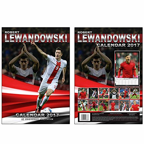 Preisvergleich Produktbild Robert LEWANDOWSKI & Bayern 2017 Kalender