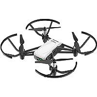 Dji Ryze Tello Mini Drone Ottimo per Creare Video con Ez Shots, Occhiali Vr e Compatibilità con Controller di Gioco, Trasmissione HD a 720P e Raggio di 100 Metri, Edizione Standard