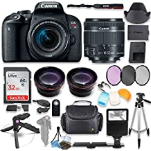 Canon EOS Rebel T7i Camera With 18-55mm STM Lens Kit + Premium Accessory Bundle