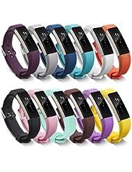 Neueste Fitbit Alta HR und Alta Armband, BeneStellar Einstellbar Köper Ersatz Armband für Fitbit Alta hr and Alta Band mit Metallschließe