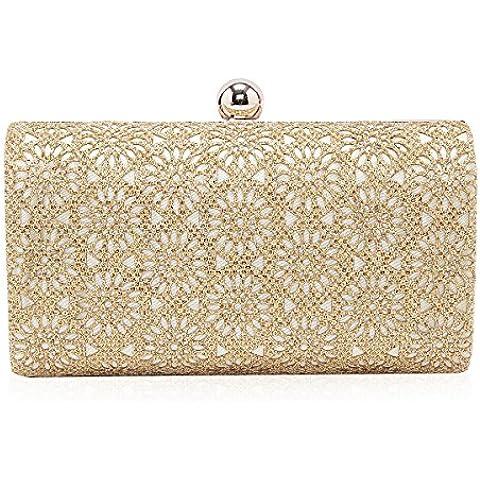 Diseño fácil de usar Damara flor de fiesta de boda a tu bolso de mano