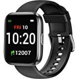Letsfit IW1 Smart Watch, 1.4 Inch Touch Screen Fitness Trackers for Women Men, Heart Rate Monitor & Blood Oxygen Saturation,