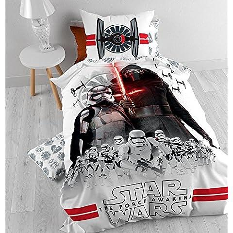 Star Wars-The Clone Wars Set ropa de cama Blanco -