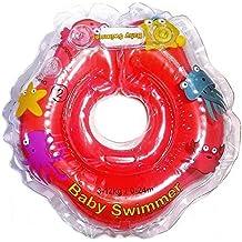 Infant Natación Flotador Inflable Anillo de Seguridad Inflable de Piscina Nadar 0-24 Meses (