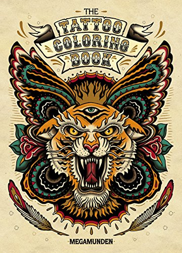 The Tattoo Adult Coloring Book par Oliver Munden