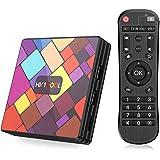 Android 11.0 TV Box【4GB RAM+64GB ROM】BT4.0 Boîtier TV 3D+4K [2021 Dernière Version] USB3.0 SUPERPOW Android 11.0 Smart TV, An