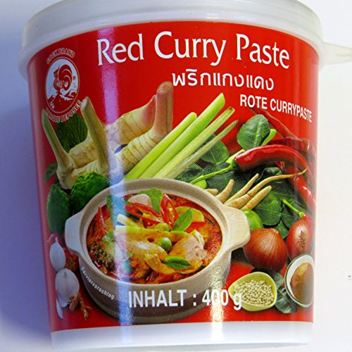 Rote Thai Currypaste 400g - Cock -