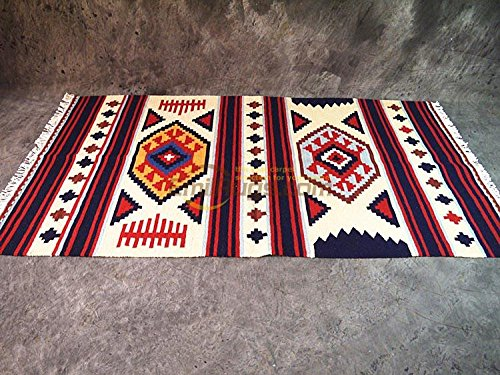 GRENSS /Style Wachow/Kilim Kilim Tapis Navajo/Selle Couverture/Indiana Pad gc137-19MMx1550MM4,950yg