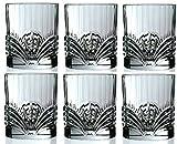 Rcr Crystal Aurea Set Of 6 Crystal Tumblers Whiskey / Wine Water Tumbler