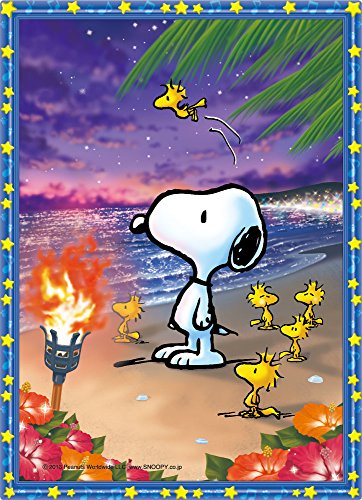 zle Crystal Snoopy Sunset Beach (Jigsaw type) (Snoopy Puzzle)
