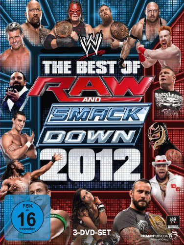 WWE - The Best of Raw & Smackdown 2012 [3 DVDs] - Dvd-2012 Wwe