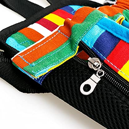 TiaoBug Dog Portable Backpack Carrier Pet Outdoor Travel Bag Hiking Camping 7
