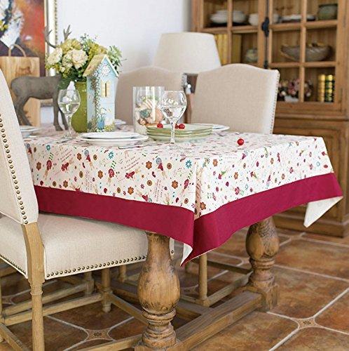 X Tischdecke Quadratische 90 Bettwäsche 90 (XMMLL Weihnachtsgeschenk Bettwäsche Rechteck Stoff Tischdecke für Speisen Wasserdicht 90 X 140 Cm)