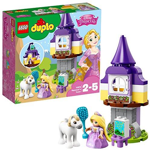 Lego duplo - princess tm - la torre di rapunzel, 10878