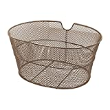 RMS Fahrradkorb oval braun Eisen (Körben Zyklus)/Front Oval Basket Brown Color (Bike Basket)