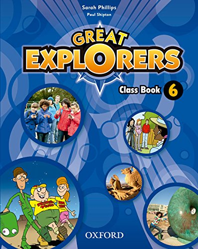 Pack Great Explorers 6. Class Book - Revised Edition