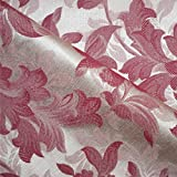 Porchester 'Bordeaux Floral': Rot Damast Polstermöbel Sofa