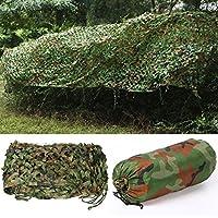 Yahee 3 x 5 m Tarnnetz Waldtarnung flecktarn Armee Netz Tarnung Tarnung Dekoration Wald
